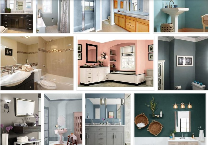 Home Depot Paint Colors for Bathrooms